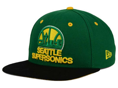 Seattle SuperSonics New Era NBA HWC Tribal Tone 9FIFTY Snapback Cap