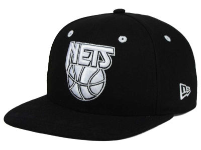 New Jersey Nets New Era NBA HWC Tribal Tone 9FIFTY Snapback Cap