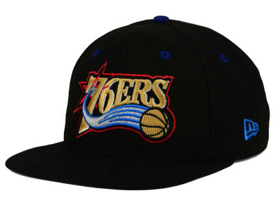 Philadelphia 76ers New Era NBA HWC Tribal Tone 9FIFTY Snapback Cap