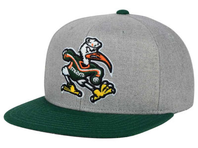 Miami Hurricanes adidas NCAA Stacked Box Snapback Cap
