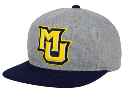 Marquette Golden Eagles adidas NCAA Stacked Box Snapback Cap