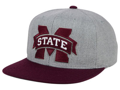 Mississippi State Bulldogs adidas NCAA Stacked Box Snapback Cap