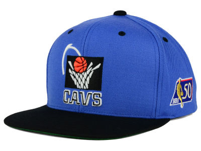 Cleveland Cavaliers Mitchell and Ness NBA 50th Snapback Cap