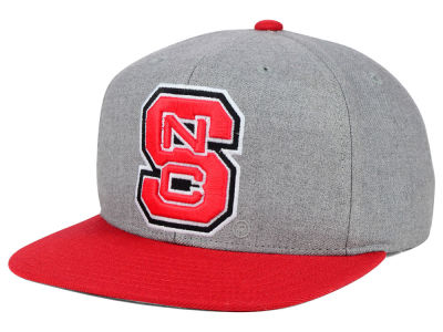 North Carolina State Wolfpack adidas NCAA Stacked Box Snapback Cap