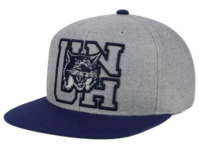 New Hampshire Wildcats adidas NCAA Stacked Box Snapback Cap