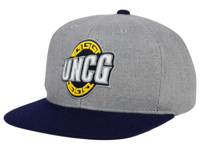 UNC Greensboro Spartans adidas NCAA Stacked Box Snapback Cap