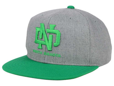 North Dakota adidas NCAA Stacked Box Snapback Cap