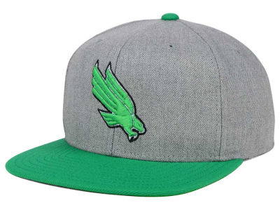 North Texas Mean Green adidas NCAA Stacked Box Snapback Cap