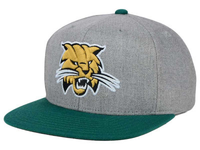 Ohio Bobcats adidas NCAA Stacked Box Snapback Cap