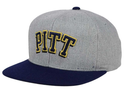 Pittsburgh Panthers adidas NCAA Stacked Box Snapback Cap