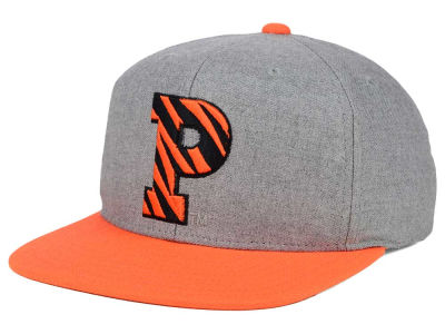 Princeton Tigers adidas NCAA Stacked Box Snapback Cap