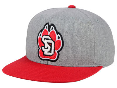 South Dakota Coyotes adidas NCAA Stacked Box Snapback Cap