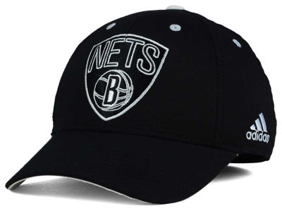 Brooklyn Nets adidas NBA Midnight Flex Cap