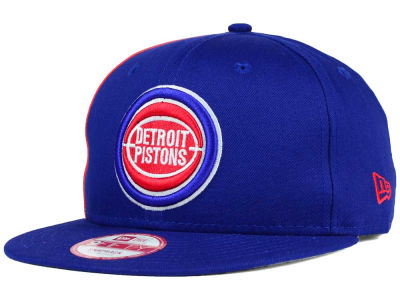 Detroit Pistons New Era NBA HWC Panel Pride 9FIFTY Snapback Cap