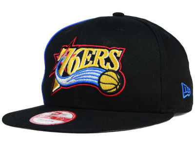 Philadelphia 76ers New Era NBA HWC Panel Pride 9FIFTY Snapback Cap