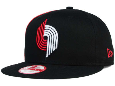 Portland Trail Blazers New Era NBA HWC Panel Pride 9FIFTY Snapback Cap
