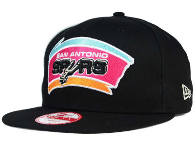 San Antonio Spurs New Era NBA HWC Panel Pride 9FIFTY Snapback Cap
