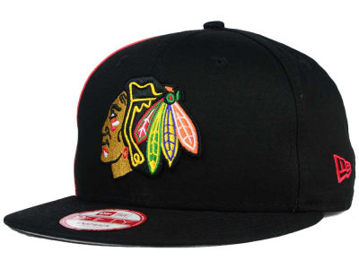 Chicago Blackhawks New Era NHL Panel Pride 9FIFTY Snapback Cap