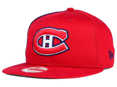Montreal Canadiens New Era NHL Panel Pride 9FIFTY Snapback Cap