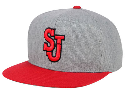 St Johns Red Storm adidas NCAA Stacked Box Snapback Cap
