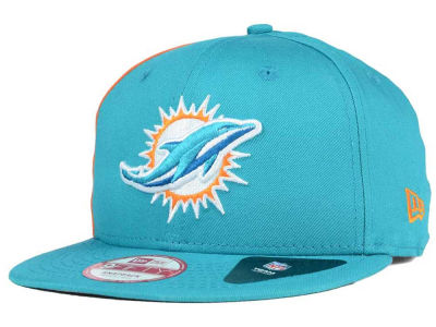 Miami Dolphins New Era NFL Panel Pride 9FIFTY Snapback Cap