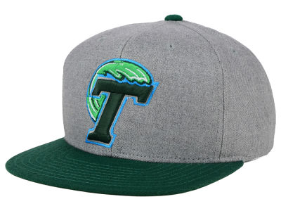 Tulane Green Wave adidas NCAA Stacked Box Snapback Cap