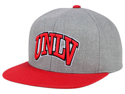 UNLV Runnin Rebels adidas NCAA Stacked Box Snapback Cap