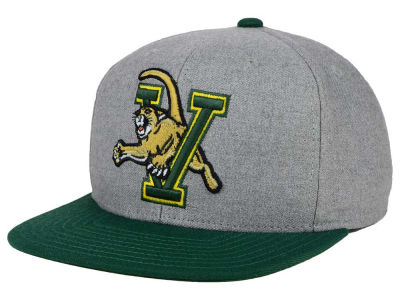Vermont Catamounts adidas NCAA Stacked Box Snapback Cap