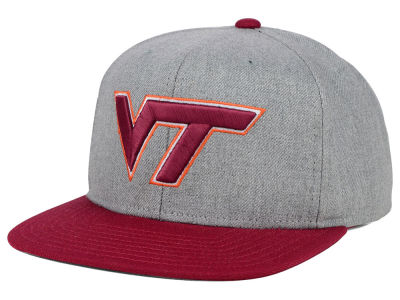 Virginia Tech Hokies adidas NCAA Stacked Box Snapback Cap