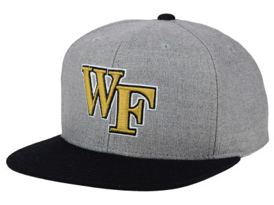 Wake Forest Demon Deacons adidas NCAA Stacked Box Snapback Cap