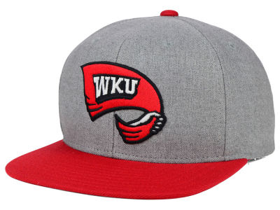 Western Kentucky Hilltoppers adidas NCAA Stacked Box Snapback Cap