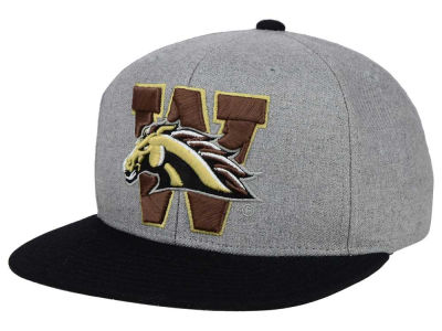 Western Michigan Broncos adidas NCAA Stacked Box Snapback Cap