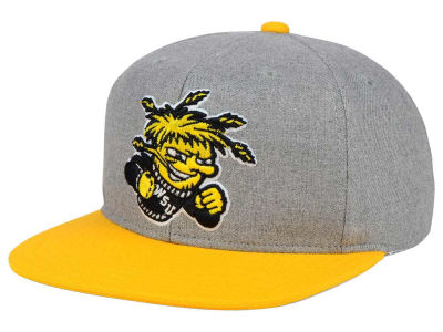 Wichita State Shockers adidas NCAA Stacked Box Snapback Cap