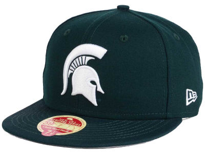 Michigan State Spartans New Era NCAA Classic Wool 59FIFTY Cap
