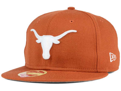 Texas Longhorns New Era NCAA Classic Wool 59FIFTY Cap