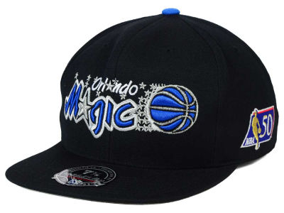Orlando Magic Mitchell and Ness NBA 50th High Crown Fitted Cap