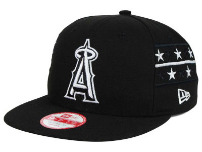 Los Angeles Angels New Era MLB Fine Side 9FIFTY Snapback Cap