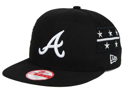 Atlanta Braves New Era MLB Fine Side 9FIFTY Snapback Cap