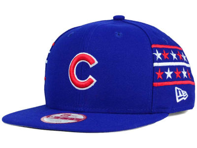 Chicago Cubs New Era MLB Fine Side 9FIFTY Snapback Cap