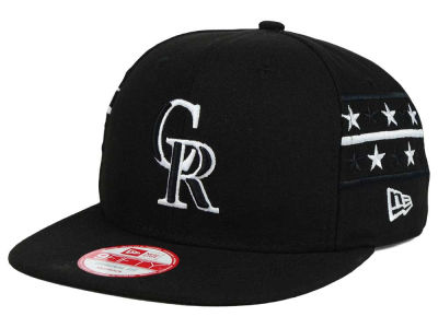 Colorado Rockies New Era MLB Fine Side 9FIFTY Snapback Cap