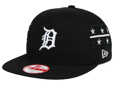 Detroit Tigers New Era MLB Fine Side 9FIFTY Snapback Cap