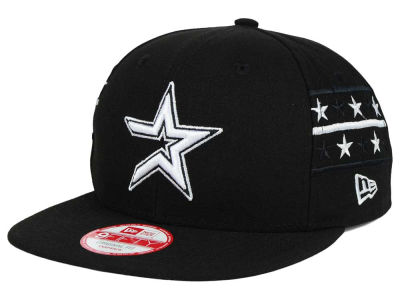 Houston Astros New Era MLB Fine Side 9FIFTY Snapback Cap