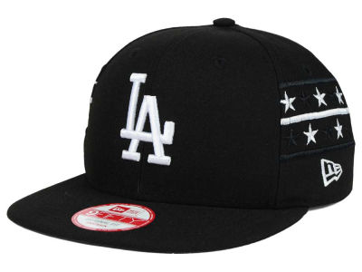 Los Angeles Dodgers New Era MLB Fine Side 9FIFTY Snapback Cap