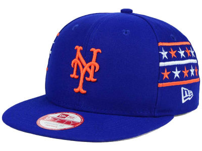New York Mets New Era MLB Fine Side 9FIFTY Snapback Cap