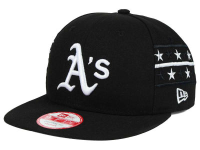 Oakland Athletics New Era MLB Fine Side 9FIFTY Snapback Cap