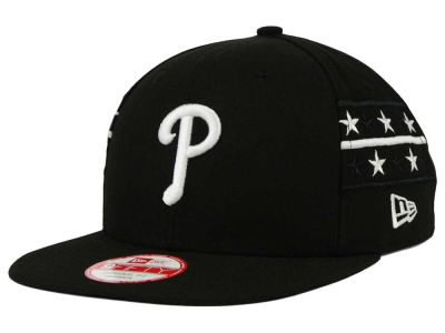 Philadelphia Phillies New Era MLB Fine Side 9FIFTY Snapback Cap