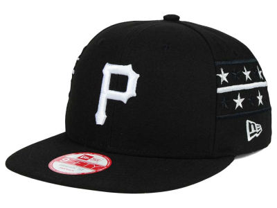 Pittsburgh Pirates New Era MLB Fine Side 9FIFTY Snapback Cap
