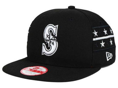 Seattle Mariners New Era MLB Fine Side 9FIFTY Snapback Cap