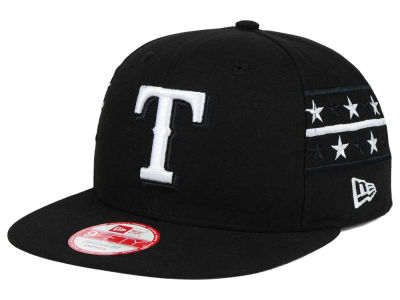 Texas Rangers New Era MLB Fine Side 9FIFTY Snapback Cap