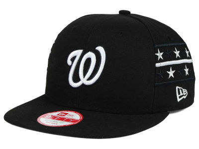 Washington Nationals New Era MLB Fine Side 9FIFTY Snapback Cap